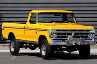 1973 Ford F-250 Yellow